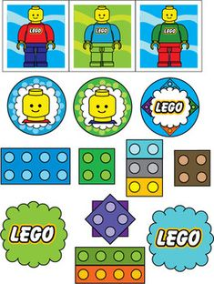 Stickers, Lego, Stickers - Free Printable Ideas from Family Shoppingbag.com