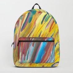 Sunlight Rainbow Flower Backpack Rainbow Flowers, Sunlight, Backpacks, Bags, Handbags, Nikko, Backpack, Backpacker, Bag