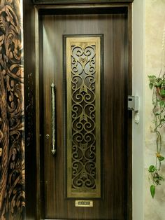 4 Easy Steps To A Beautiful Home Entrance The most important area of the home that sets up the stage for what's to come. We have 4 really simple steps to up your home entrance decor in no time. House Entrance, Main Entrance Door Design, Room Door Design, Entrance Decor, Home Entrance Decor, Grill Door Design, Pooja Room Door Design, Door Design Wood, Front Door Design