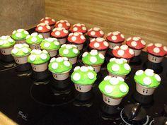 The Ozinga Outlook: Mario Brothers Mushroom Cupcakes