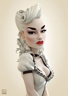 Romanie by Andrew Hickinbottom | Pinup | 3D | CGSociety