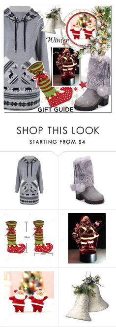 """""""Gift Guide: Besties"""" by jecakns ❤ liked on Polyvore featuring National Tree Company"""