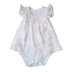 'Rose Toile' Romper Dress - Phoebe & Floyd Romper Dress, Baby Outfits, Party Dresses, Infant, Rompers, Fashion, Toile, Baby Coming Home Outfit, Tween Party Dresses