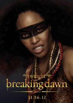 Tracey Heggins as Senna from The Amazon Coven - The Twilight Saga: Breaking Dawn Part 2
