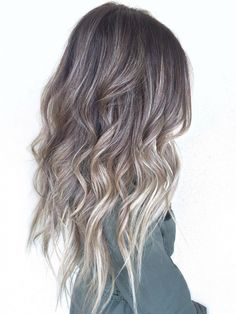Want to refresh your hair colour this summer? From extra-cool blonde to straight-up grey, these are the best ash balayage pictures on Pinterest.