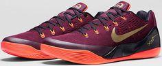 Zapatilla Nike Kobe IX Deep Garnet, cómodas, bonitas y de calidad www.basketspirit.com/Zapatillas-Baloncesto/Zapatillas-Kobe