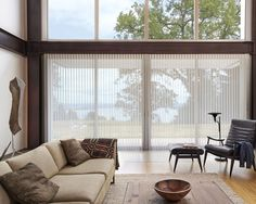 Luminette Privacy Sheers put you in control of your natural light and privacy.