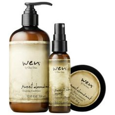 WEN® by Chaz Dean Healthy Hair Care Kit from Sephora. Saved to Beauty products. Natural Hair Care Tips, Natural Hair Styles, Natural Skin, Natural Beauty, Wen Hair Care, Mint Hair, Beauty Games, Cleansing Conditioner, Healthy Hair