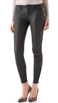 J Brand Super Skinny Leather Pants  LOVE!!!!!!