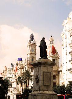 Plaza del Ajuntament #Valencia #Spain #Photography