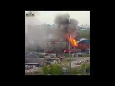 """Момент взрыва в кафе """"Иверия""""      #Саратов #СаратовLife"""