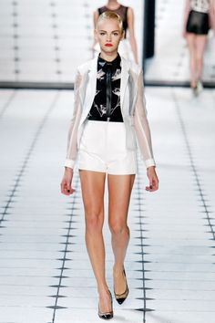 #Trend: #Shorts, Jason Wu.    View the full Spring Fashion 2013 Guide here: http://www.fashionmagazine.com