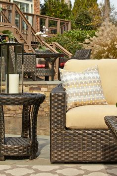 The Cassley Outdoor Furniture Series, Available From The Tin Roof In Spokane  WA #shopthetinroof #klaussner #outdoorfurniture   Outdoor Life   Pinterest  ...