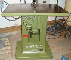 Baxter D. Whitney & Son, Inc. - No. 110 Spindle Shaper