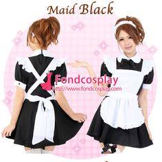 Maid Uniform, Black, Black People