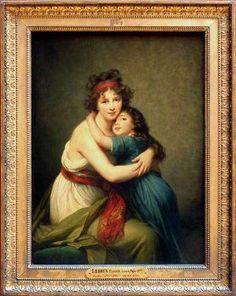 Madame Vigée-Lebrun and Her Daughter