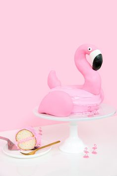 DIY Flamingo Pool Fl