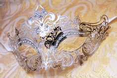 Hey, I found this really awesome Etsy listing at http://www.etsy.com/listing/157613210/luxury-silver-laser-cut-venetian-mardi