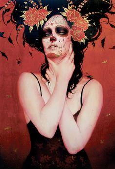 Hosber Art - Blog de Arte & Diseño.: Sylvia Ji / Sensualidad y Muerte
