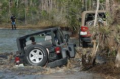 River Jeep - might be the OTHER 4wd, but damn that looks like fun!