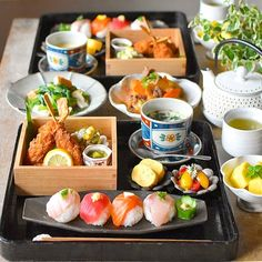 Asain Food, Japanese Food, Japanese Dishes, Food For Eyes, Asian Recipes, Healthy Recipes, Tapas, Food Decoration, Yummy Food