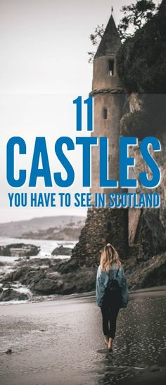 These 11 Scottish castles will make for a great day out during your Scotland vacation!that simply ooze history. These 11 Scottish castles will make for a great day out during your Scotland vacation! Scotland Vacation, Scotland Road Trip, Scotland Travel, Ireland Travel, Scotland Castles, Scottish Castles, Places To Travel, Places To Visit, Travel Destinations