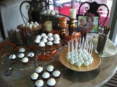 Dessert table i made for a friends pre wedding party