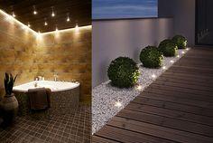 LED on Pop valaistuksessa.k-rauta. Exterior Design, Interior And Exterior, Backyard Creations, Outdoor Flowers, Balcony Ideas, Patio Ideas, Backyard Landscaping, Lamp Light, Lightning