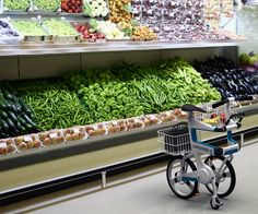 Classifying the Ville as just another folding urban commuter cycle will not be fair. The design concept goes a step further by adding functionality to the folded form. It doubles up as a cart so that when you go grocery shopping, you don't leave this cool bike parked outside to tempt thieves, you take it along indoors.