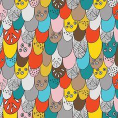 Cute patterned art by Lisa Congdon