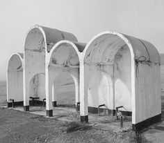 Bus Shelter, Shymkent, Kazakhastan (formerly a part of the USSR) architect unknown (Photograph by the Canadian photographer Christopher Herwig) Modernism Week, Bus Shelters, Kazakhstan, Brutalist, Soviet Union, Architecture Details, Midcentury Modern, Mount Rushmore, 1960s