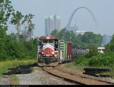 RailPictures.Net Photo: NREX 8528 National Railway Equipment (NREX) GE B39-8E (Dash 8-39BE) at East Saint Louis, Illinois by Gary Hall
