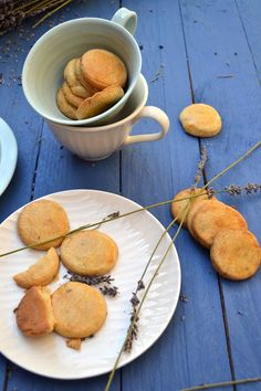 Lavender biscuits – A Kingdom for a Cake