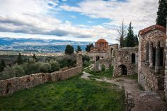 Greece is home to ancient cities that reached the apogee during the Hellenistic periods and during the Byzantine or Roman eras, all waiting to show their wonders to the visitor. #Unesco #Mystras #Peloponnese #Greece #Monterrasol #travel #privatetours #customizedtours #multidaytours #roadtrips #travelwithus #tour #nature #architecture #art #beautiful #thisisgreece #destination #tourism #beauty #mountains #green #monastery #church #religion #faith #museum #Byzantine #Greek #walls #fortified Hellenistic Period, Roman Era, The Visitors, Byzantine, Day Tours, Natural Wonders, World Heritage Sites, Continents, Barcelona Cathedral