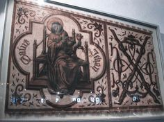 1474-76 Burgundy. Embroidered Banner.