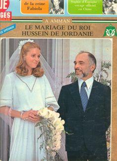 Roi Hussein de Jordanie et Lisa Halaby Point de Vue cover