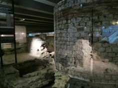 As you wander through the ruins, which were discovered during excavations in the 1960s and 1970s, you'll see parts of the old Roman baths.  Follow the link to see more. http://mikestravelguide.com/things-to-do-in-paris-visit-the-archaeological-crypt-of-notre-dame/