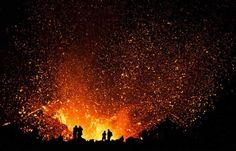 Image: Skarphedinn Thrainsson Getting This Close To An Erupting Volcano Is Only For The Truly Fearless.