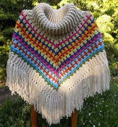Moje tvořeníčko...: Háčkované pončo s rolákem Knit Crochet, Crochet Hats, Scarves, Blanket, Gloves, Knitting Ideas, Fashion, Crochet Batwing Tops, Collared Dress