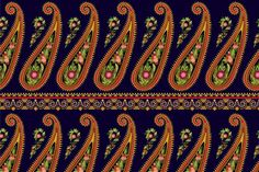 Paisley pattern by Sunny_Lion on @creativemarket