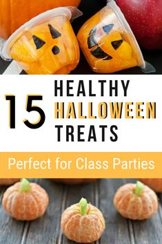 15 Tasty and Healthy Halloween Snacks for Kids - perfect for Halloween party food or lunch snacks that are fun and seasonal. -Living For the Sunshine halloween treats 15 Tasty and Healthy Halloween Snacks for Kids - Living For the Sunshine Halloween Fruit, Halloween Class Party, Healthy Halloween Treats, Halloween Activities For Kids, Cheap Halloween, Halloween Desserts, Halloween Costumes For Kids, Halloween Ideas, Halloween Books