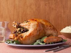 Turkey with Stuffing Recipe : Alton Brown : Food Network - FoodNetwork.com