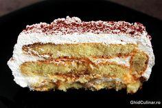 Tiramisu cu lamaie - un desert racoritor, numai bun pentru zilele calduroase de vara. Pinterest Recipes, My Recipes, Tiramisu, Sweets, Desserts, Food, Italia, Tailgate Desserts, Deserts