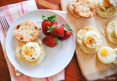 Easy Oven Egg Sandwiches