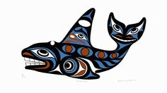 Joe Wilson ( Coast Salish )  - Killerwhale