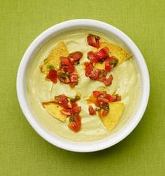 Cold Avocado Soup With Chile-Lime Pepitas Recipes — Dishmaps