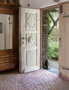 French Provençal entry doors