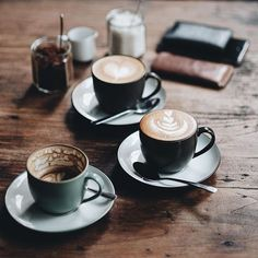Many Italians call espresso a romantic kind of coffee and it's easy to see why. The nature of espresso is such that it doesn't take a whole lot to fill you up. Coffee Is Life, I Love Coffee, My Coffee, Coffee Drinks, Coffee Time, Morning Coffee, Coffee Shop, Coffee Travel, Coffee Coffee