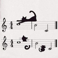 kitty cats Jazz for Cool Cats Crazy Cat Lady, Crazy Cats, Cool Cats, I Love Cats, Musical Cats, Gatos Cool, Image Chat, Cat Tattoo, Cat Drawing