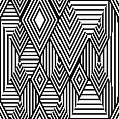 Vector black and white ethnic seamless pattern with striped rhombus. Abstract tribal background. Trendy design for fashion textile print, wrapping paper, web background, package.